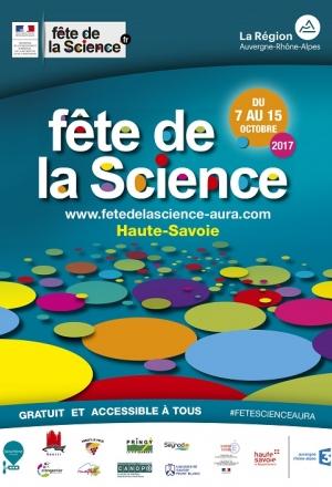 Fête de la science 2017 en Haute-Savoie et en Savoie