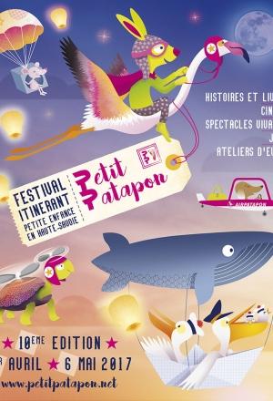 10e Festival Petit Patapon du 1er avril au 6 mai 2017