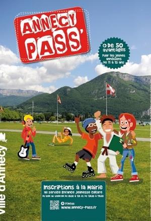 Bon plan : Annecy Pass', le passeport activités des jeunes de 11 à 15 ans !