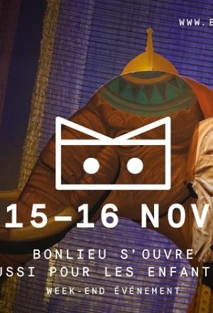 Bonlieu s'ouvre aux enfants ! Week-end événement (15 et 16/11)