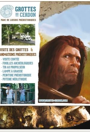 Grottes du Cerdon: une journée à l'ère préhistorique !