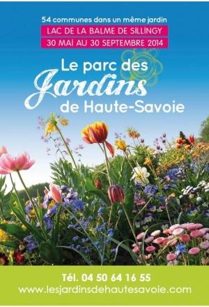 Balade insolite dans le Parc des Jardins de Haute-Savoie (La Balme-de-Sillingy)