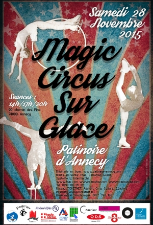 Spectacle de cirque sur glace : Magic Circus !