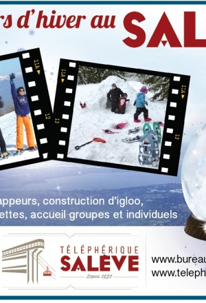 Ouverture du Téléphérique du Salève cet hiver !